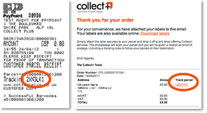 I have lost my tracking number | CollectPlus