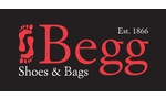 logo of Begg Shoes Peterhead